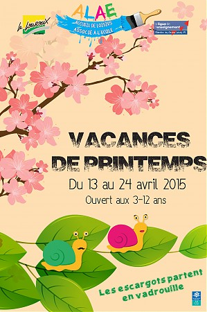 flyer recto printemps